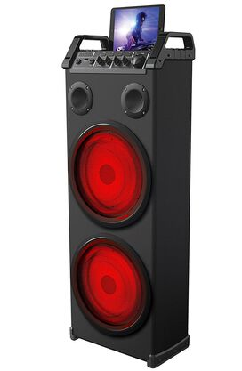 Sharper Image Bluetooth LED Mega Tower Speaker