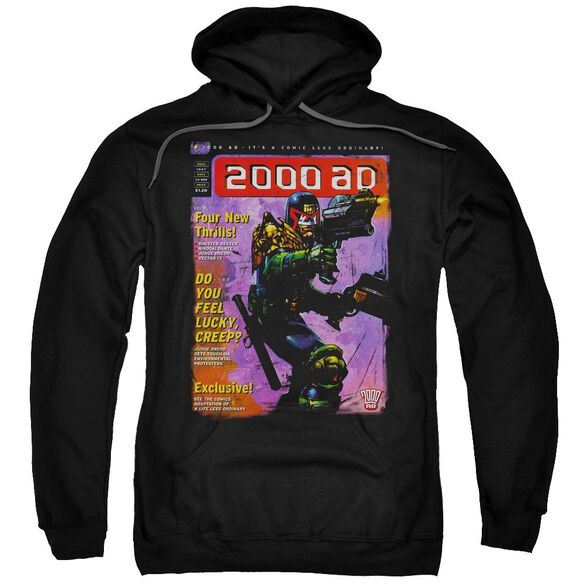 Judge Dredd 1067 Adult Pull Over Hoodie