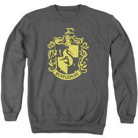 Harry Potter Hufflepuff Crest Adult Crewneck Sweatshirt
