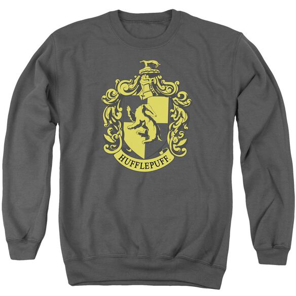 Harry Potter Hufflepuff Crest Adult Crewneck Sweatshirt
