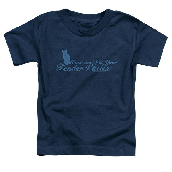 Tender Vittles Come And Get Em Short Sleeve Toddler Tee Navy Sm T-Shirt