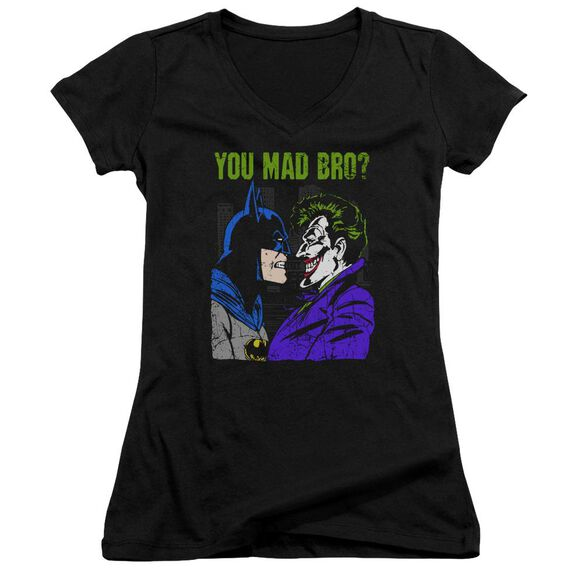 Dc Mad Bro Junior V Neck T-Shirt