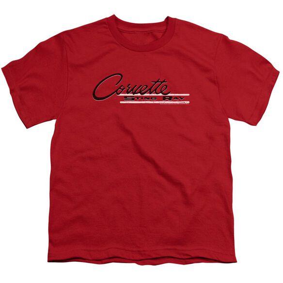 Chevrolet Retro Stingray Short Sleeve Youth T-Shirt