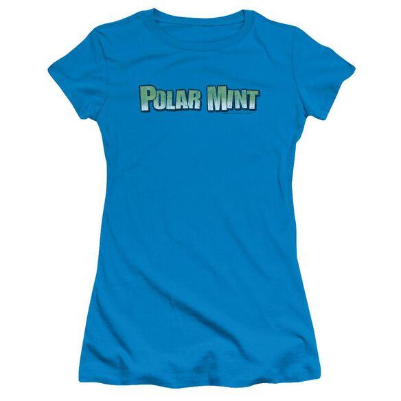 Dubble Bubble Polar Mint Short Sleeve Junior Sheer T-Shirt