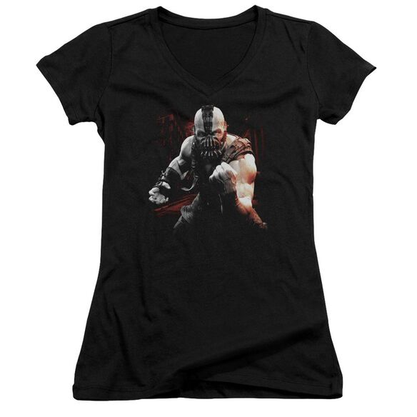 Dark Knight Rises Bane Battleground Junior V Neck T-Shirt