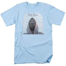 Issac Hayes Black Moses Short Sleeve Adult Light T-Shirt