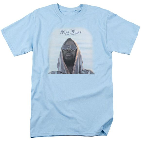 Issac Hayes Black Moses Short Sleeve Adult Light T-Shirt