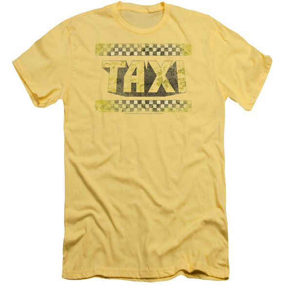 Taxi Run Down Taxi Short Sleeve Adult T-Shirt