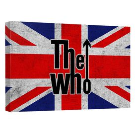 The Who Who Flag Quickpro Artwrap Back Board