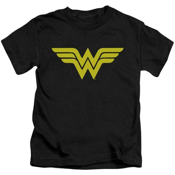 Dc Wonder Woman Logo Short Sleeve Juvenile T-Shirt