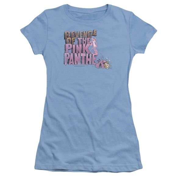 Pink Panther Revenge Short Sleeve Junior Sheer Carolina T-Shirt