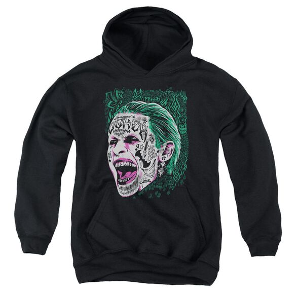 Suicide Squad Prince Portrait Youth Pull Over Hoodie