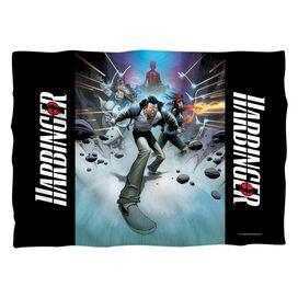 Harbinger Force Field (Front Back Print) Pillow Case White