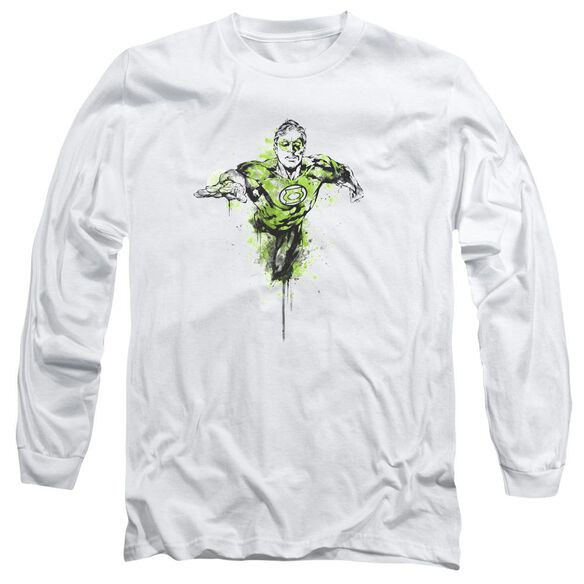 Green Lantern Inked Long Sleeve Adult T-Shirt