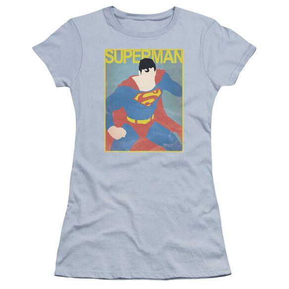 Superman Simple Poster Premium Bella Junior Sheer Jersey Light