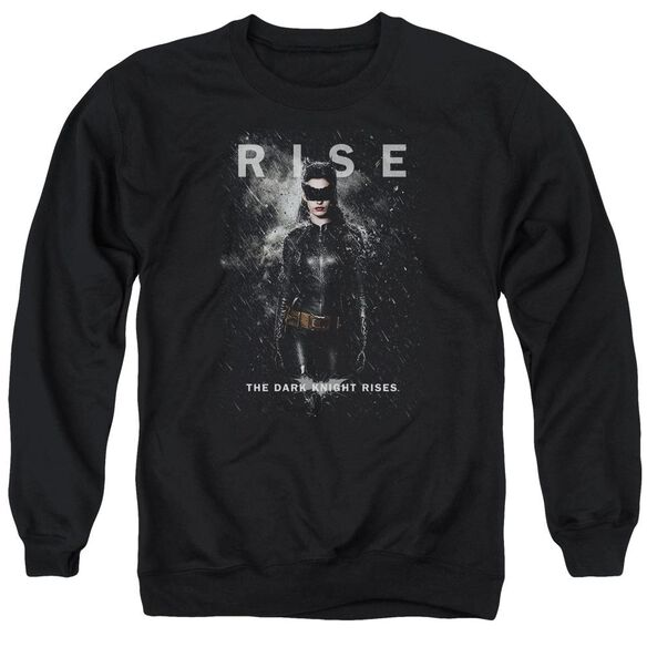 Dark Knight Rises Catwoman Rise Adult Crewneck Sweatshirt