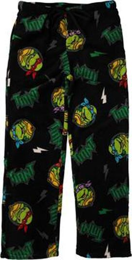 Ninja Turtles TMNT Bolts Fleece Pants