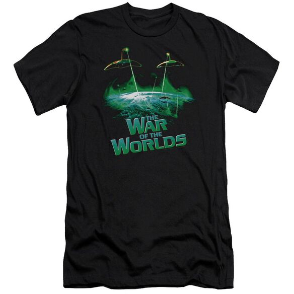 War Worlds Global Attack Premuim Canvas Adult Slim Fit