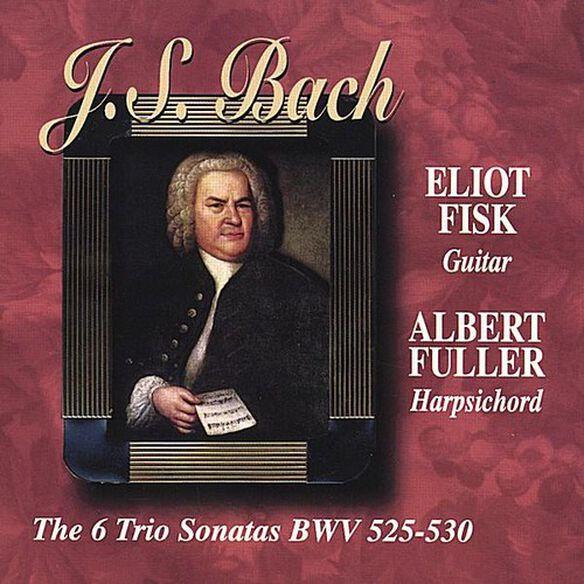 Eliot Fisk - J.S.Bach the Six Trio Sonatas BWV 525-530Guitar &
