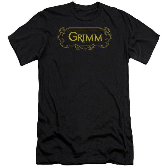 Grimm Plaque Logo Premuim Canvas Adult Slim Fit