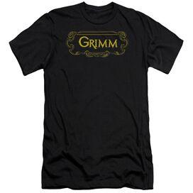Grimm Plaque Logo Short Sleeve Adult T-Shirt