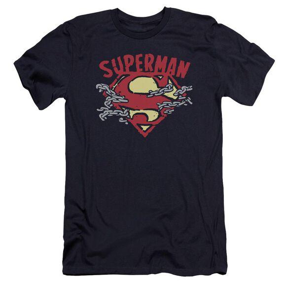 Superman Chain Breaking Premuim Canvas Adult Slim Fit