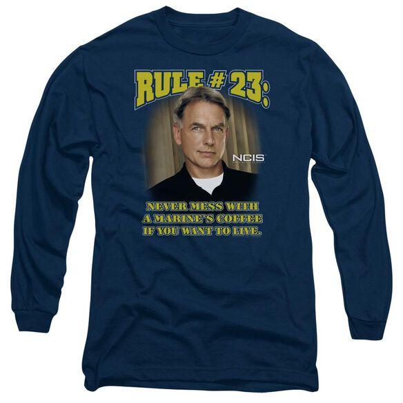 Ncis Rule 23 Long Sleeve Adult T-Shirt