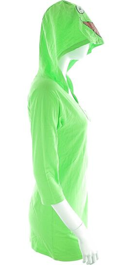 Muppets Kermit Hooded Junior Nightshirt