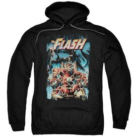 Jla Electric Chair Adult Pull Over Hoodie