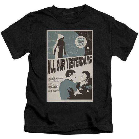 Star Trek Tos Episode 78 Short Sleeve Juvenile Black T-Shirt
