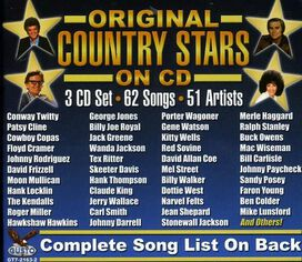 Various Artists - Original Country Stars On CD