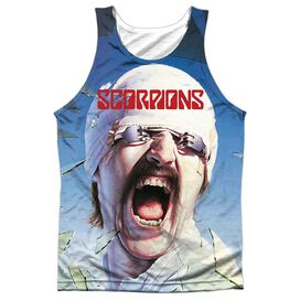 Scorpions Blackout Adult Poly Tank Top