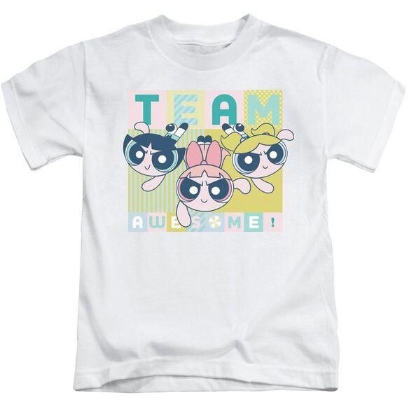 Powerpuff Girls Awesome Block Short Sleeve Juvenile T-Shirt