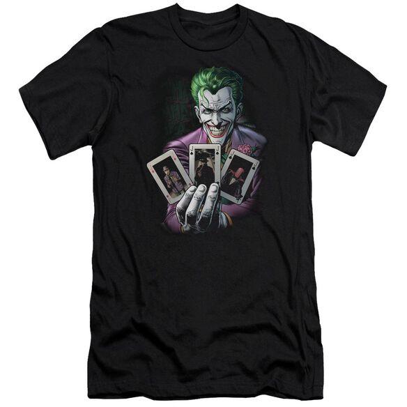 Batman 3 Of A Kind Short Sleeve Adult T-Shirt