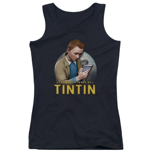 Tintin Looking For Answers Juniors Tank Top