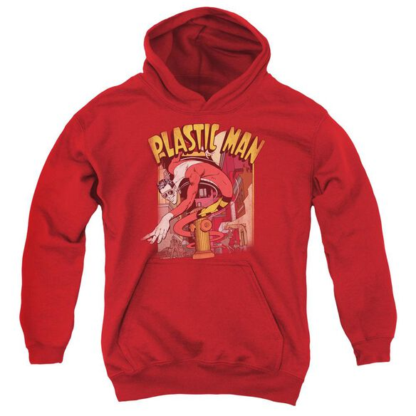 Dc Plastic Man Street Youth Pull Over Hoodie
