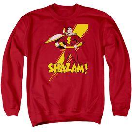Dc Shazam! Adult Crewneck Sweatshirt