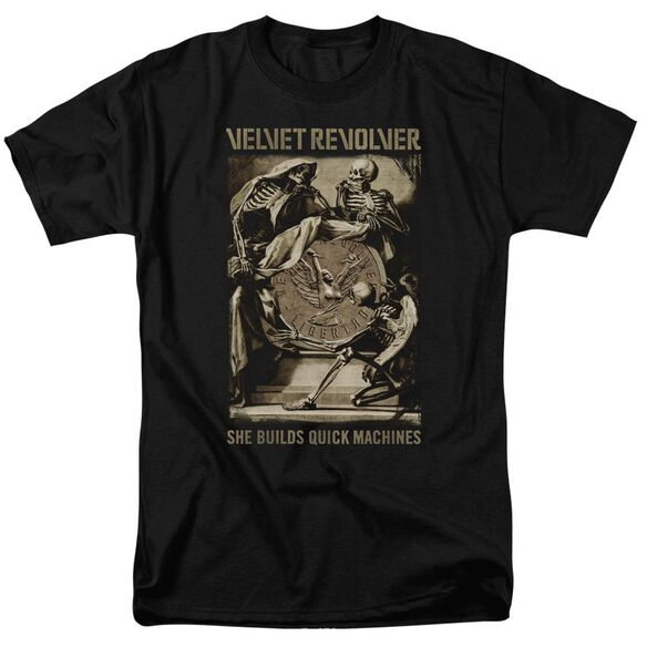 Velvet Revolver Quick Machines Short Sleeve Adult T-Shirt