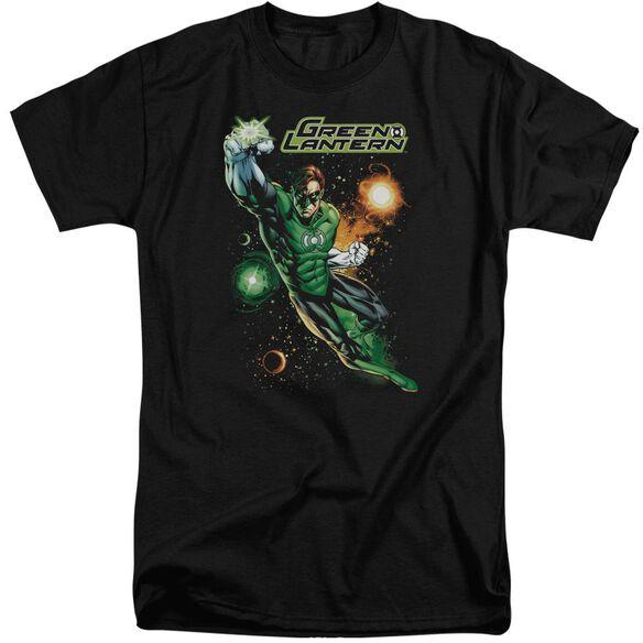 Jla Galactic Guardian Short Sleeve Adult Tall T-Shirt