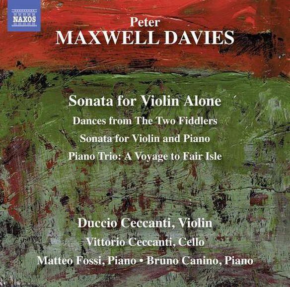 Maxwell Davies: Sonata For Violin Alone