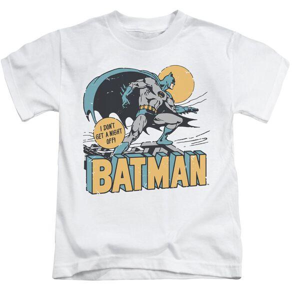 Dc Night Off Short Sleeve Juvenile T-Shirt