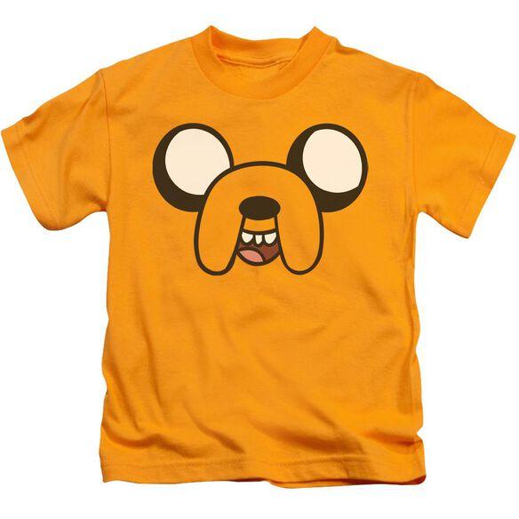 Adventure Time Jake Head Short Sleeve Juvenile T-Shirt