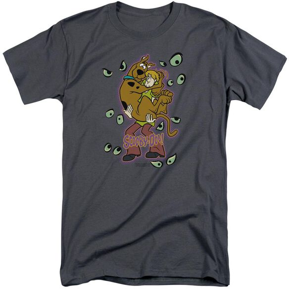 Scooby Doo Being Watched Short Sleeve Adult Tall T-Shirt