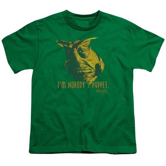 Farscape Nobodys Puppet Short Sleeve Youth Kelly T-Shirt