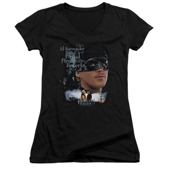 Princess Bride Surrender Junior V Neck T-Shirt