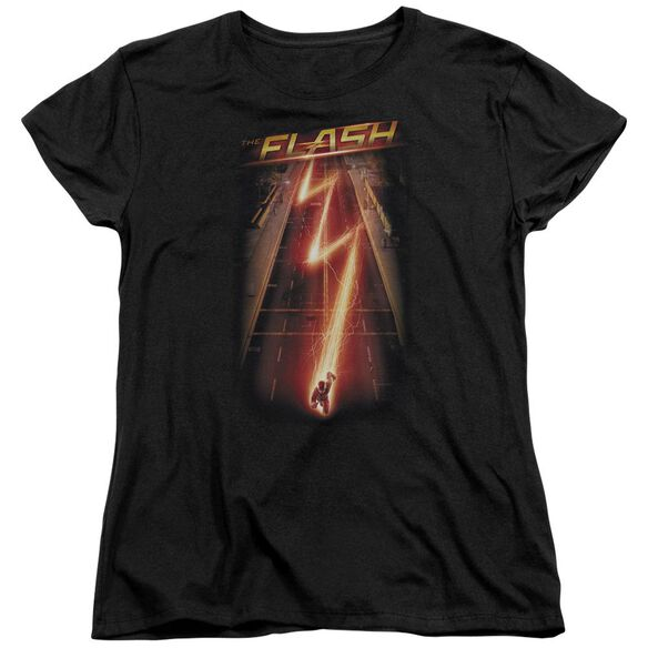 The Flash Flash Ave Short Sleeve Womens Tee T-Shirt