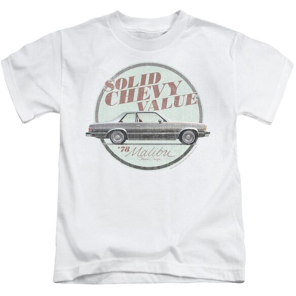Chevrolet Do The 'Bu Short Sleeve Juvenile White T-Shirt
