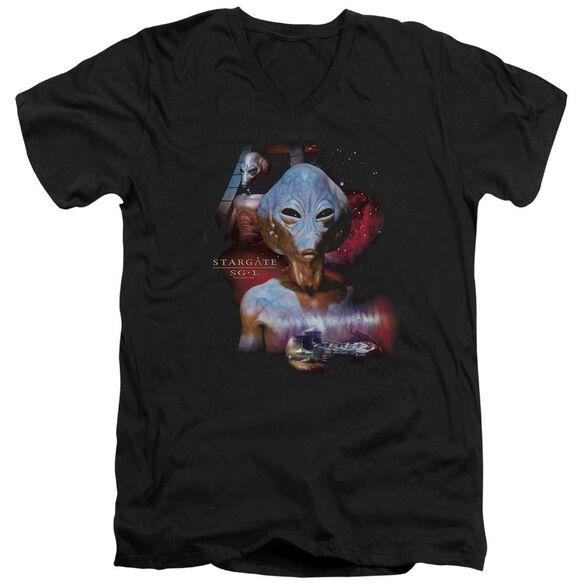 Sg1 The Asgard Short Sleeve Adult V Neck T-Shirt