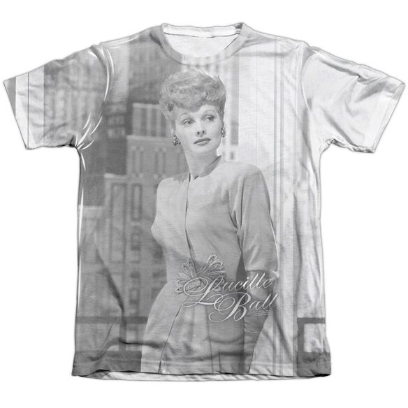 Lucille Ball City Girl Adult Poly Cotton Short Sleeve Tee T-Shirt