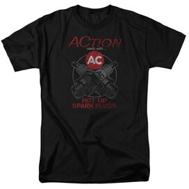 Ac Delco Cross Plugs Short Sleeve Adult T-Shirt